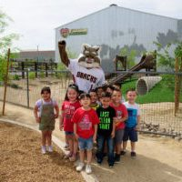 PHOENIX, AZ - APRIL 11: Neighborhood Ministries unveils it's new playground funded by the Ken Kendrick Grand Slam Award through the Arizona Diamondbacks Foundation. (Photo by Kelsey Grant/Arizona Diamondbacks)